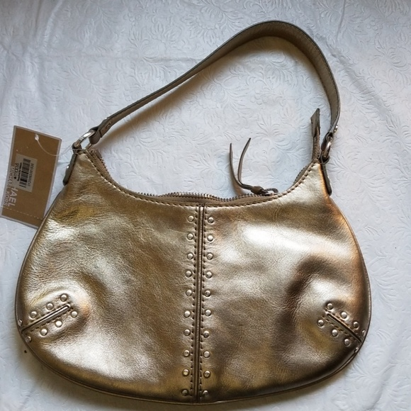 a34c825af812 SALE Michael Kors Astor Leather Hobo